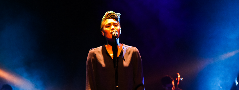 Imany's magic his Fall In the Eart Hall